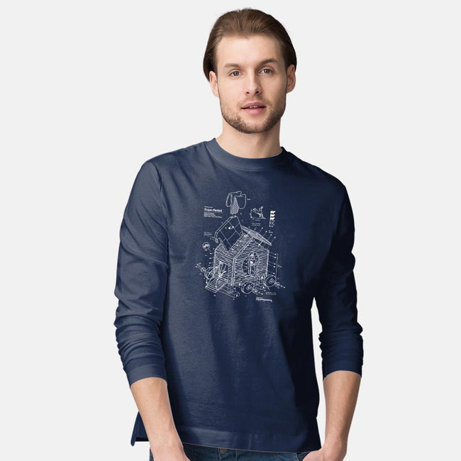 Trojan Rabbit-mens long sleeved tee-vomaria