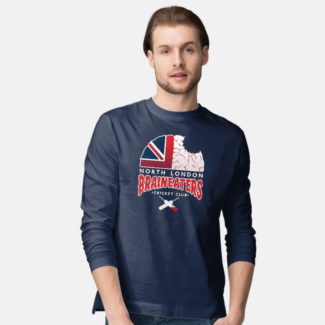 Undead Gentleman's Game-mens long sleeved tee-nakedderby