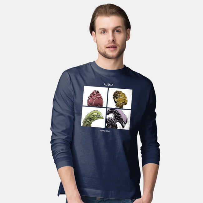 Xeno Days-mens long sleeved tee-boltfromtheblue