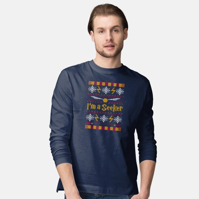 I'm A Seeker-mens long sleeved tee-Mandrie