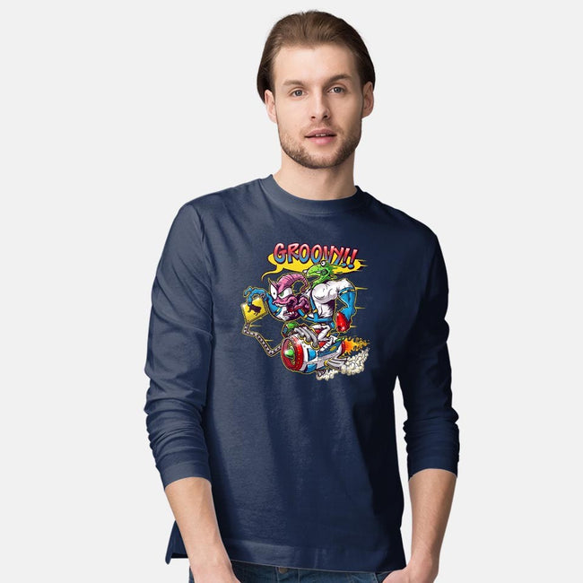 Groovy Fink-mens long sleeved tee-JakGibberish