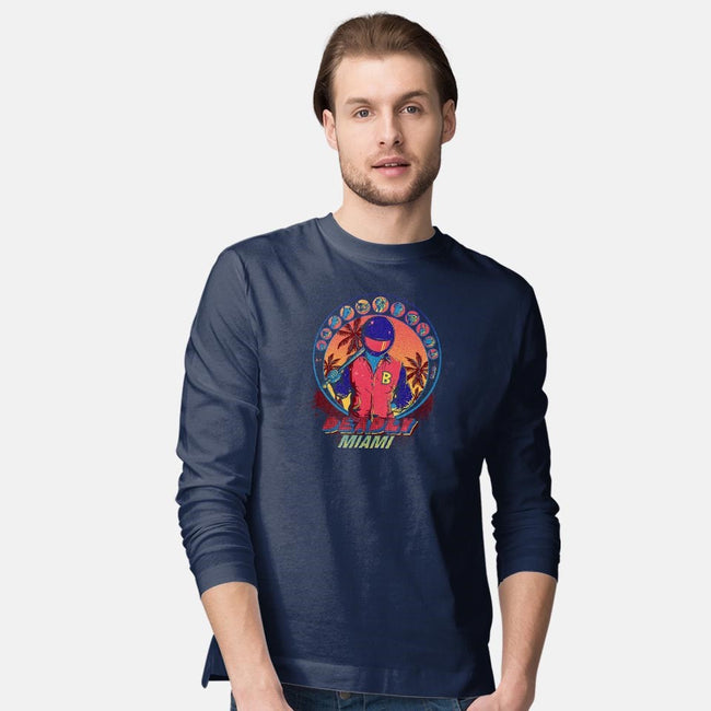 Deadly Miami-mens long sleeved tee-Donnie