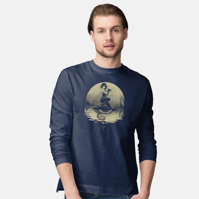 Sailing With Death-mens long sleeved tee-Rodrigo Gafa