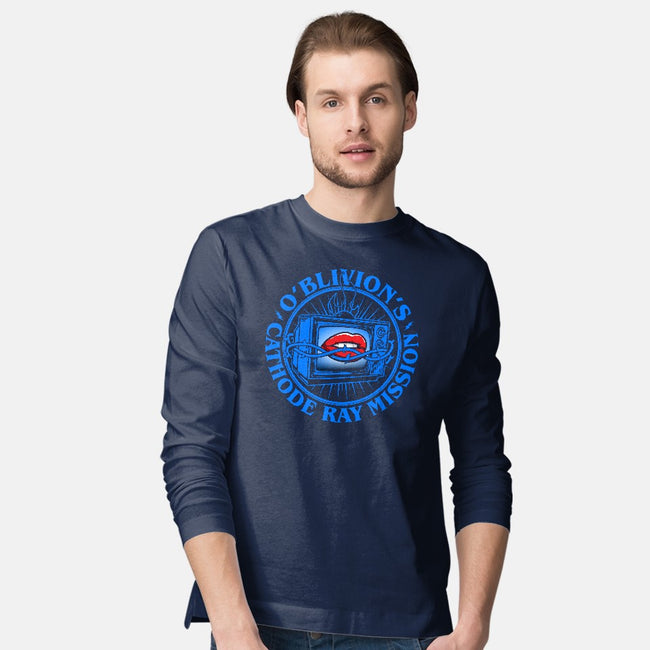 O'Blivion's Cathode Ray Mission-mens long sleeved tee-boltfromtheblue