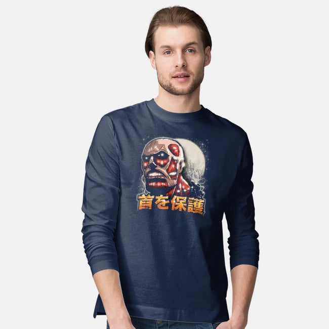 Protect Ya Neck-mens long sleeved tee-CoD Designs