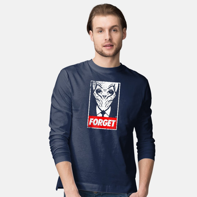 Obey the Silence-mens long sleeved tee-Eozen