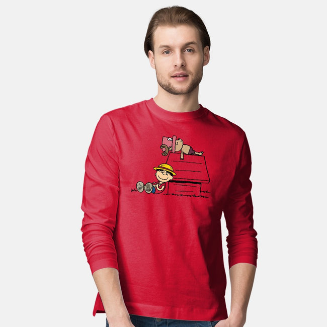 One Piece Nuts-mens long sleeved tee-Boggs Nicolas