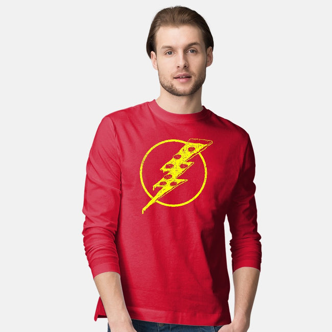 Quick Pizza-mens long sleeved tee-tobefonseca