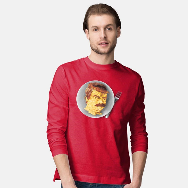 All the Bacon and Eggs-mens long sleeved tee-Pyne