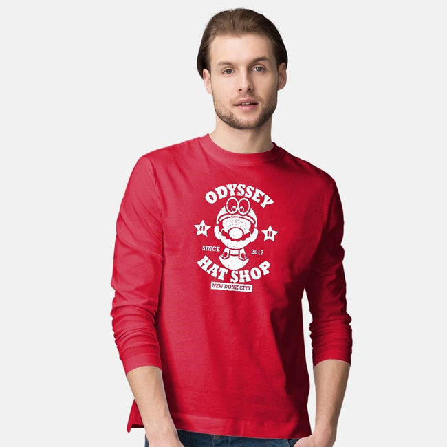 Odyssey Hat Shop-mens long sleeved tee-jrberger