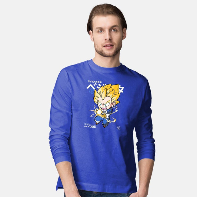 Chibi Final Flash-mens long sleeved tee-mankeeboi
