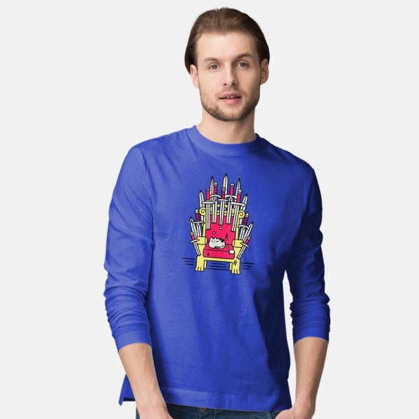 Game of Naps-mens long sleeved tee-craftsman