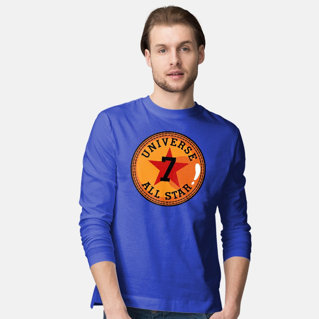 Universe 7 All Star-mens long sleeved tee-Boggs Nicolas