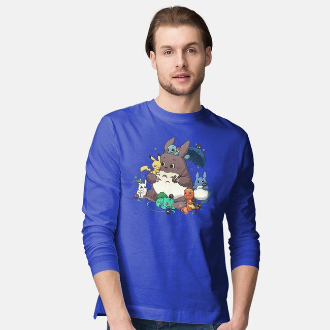 Totomon-mens long sleeved tee-DoOomcat