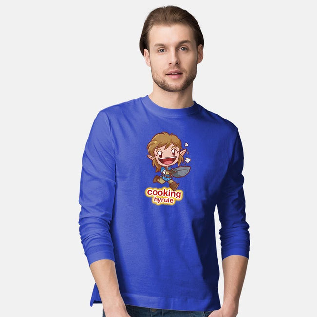 Cooking Hyrule-mens long sleeved tee-digitoonie