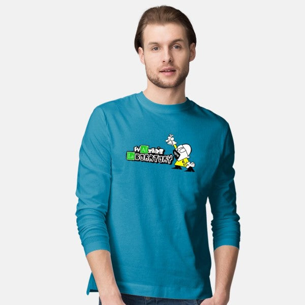 Walter's Lab-mens long sleeved tee-dorksince83