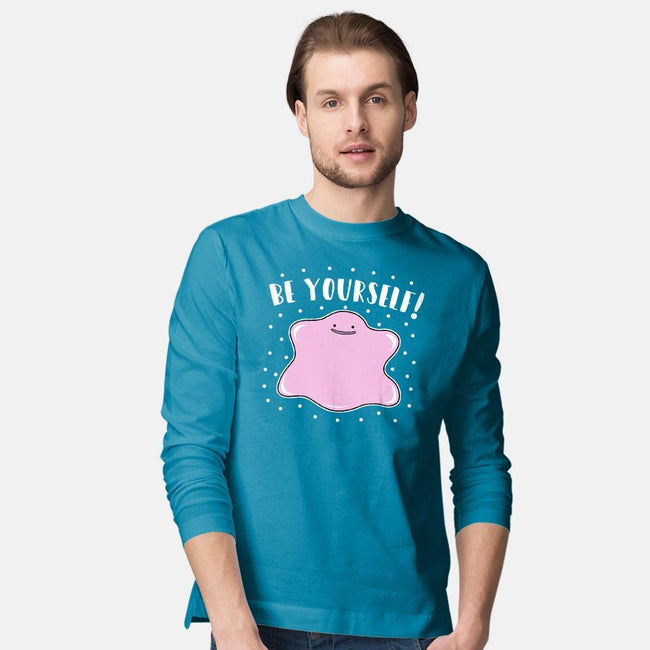 Be Yourself!-mens long sleeved tee-Raffiti