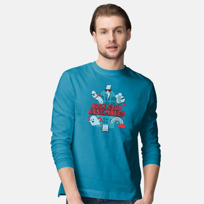 The League of Extraordinarily Well Read Gentlemen-mens long sleeved tee-kiwihopper