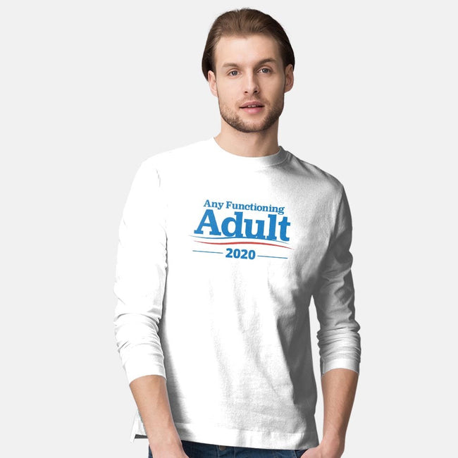 Any Functioning Adult-mens long sleeved tee-Beware_1984