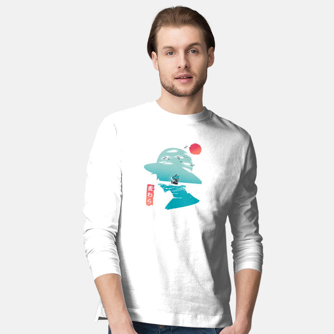 Good Day to Sail-mens long sleeved tee-kkdesign