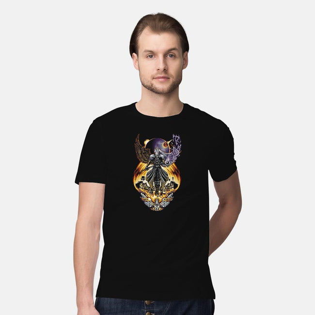 One Winged Angel-mens premium tee-TrulyEpic