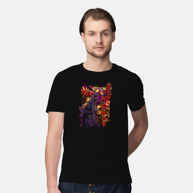 Pop Versus-mens premium tee-cs3ink