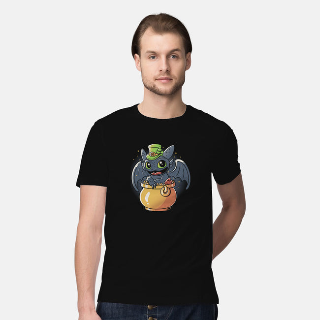 Irish Dragon-mens premium tee-eduely