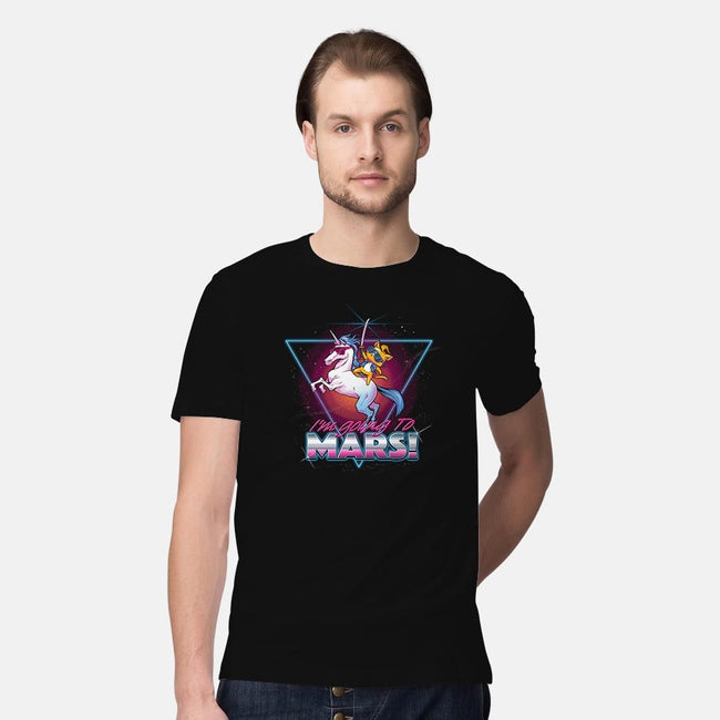 I'm Going To Mars!-mens premium tee-tobefonseca