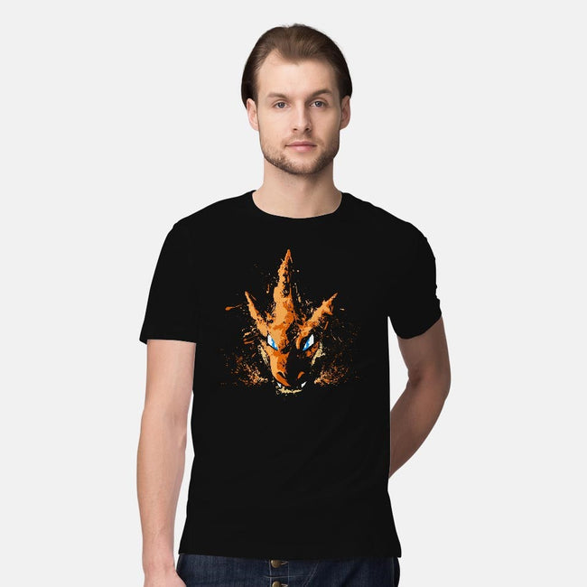 Y-Flying Fire-mens premium tee-alemaglia