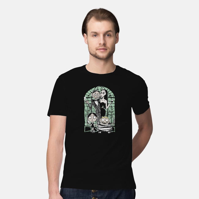 Nightmare Family Values-mens premium tee-ursulalopez