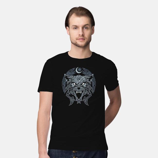 Wolves of Ragnarok-mens premium tee-RAIDHO