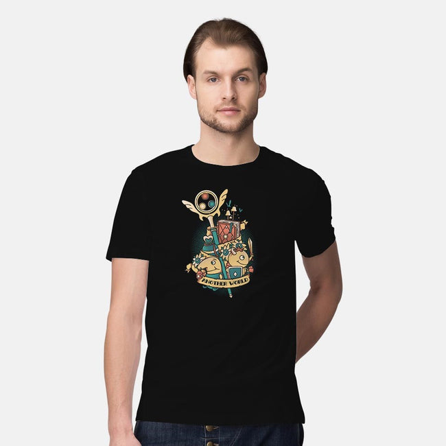 Kuni Tattoo-mens premium tee-Typhoonic