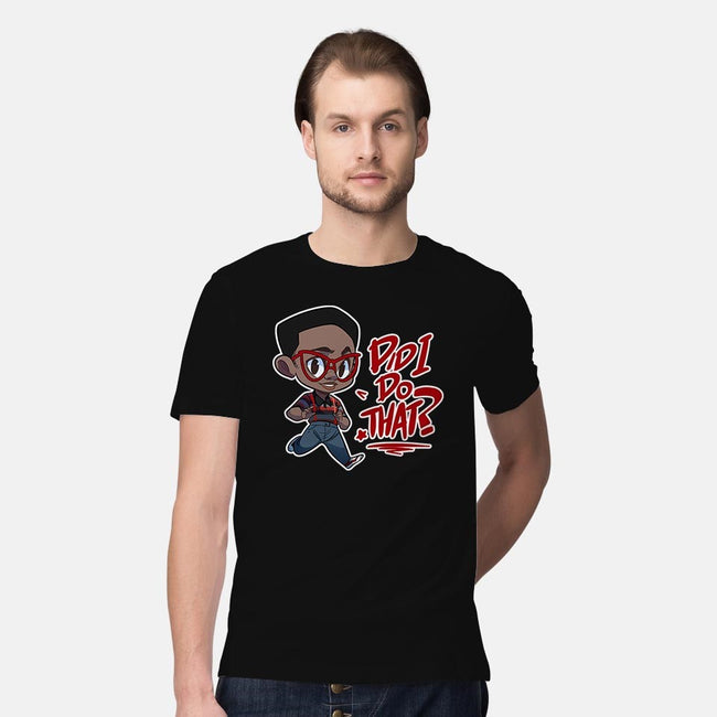 Did I Do That?-mens premium tee-digitoonie