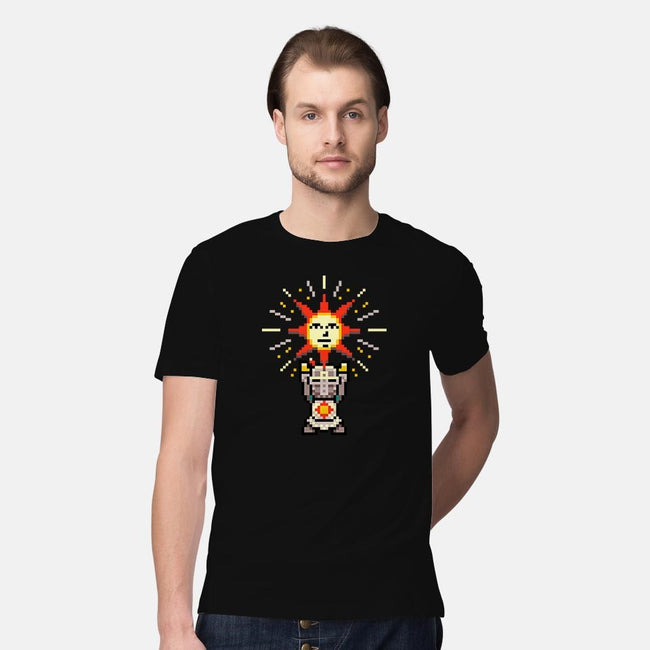 Praise the Pixel-mens premium tee-The Grilled Bacon