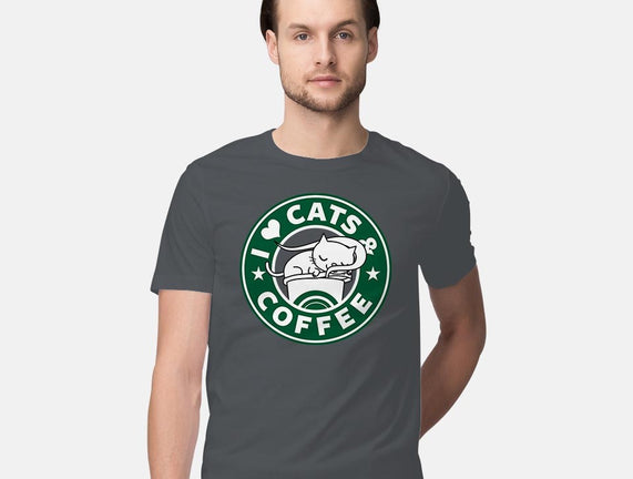 I Love Cats and Coffee