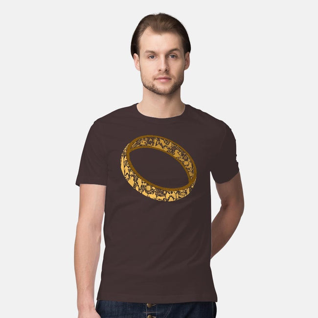 One Ring-mens premium tee-thehookshot