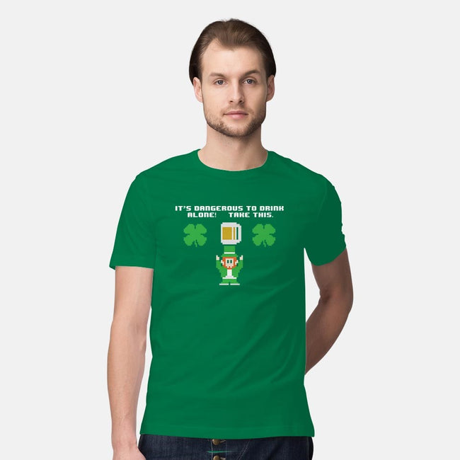 Don't Drink Alone-mens premium tee-jrberger