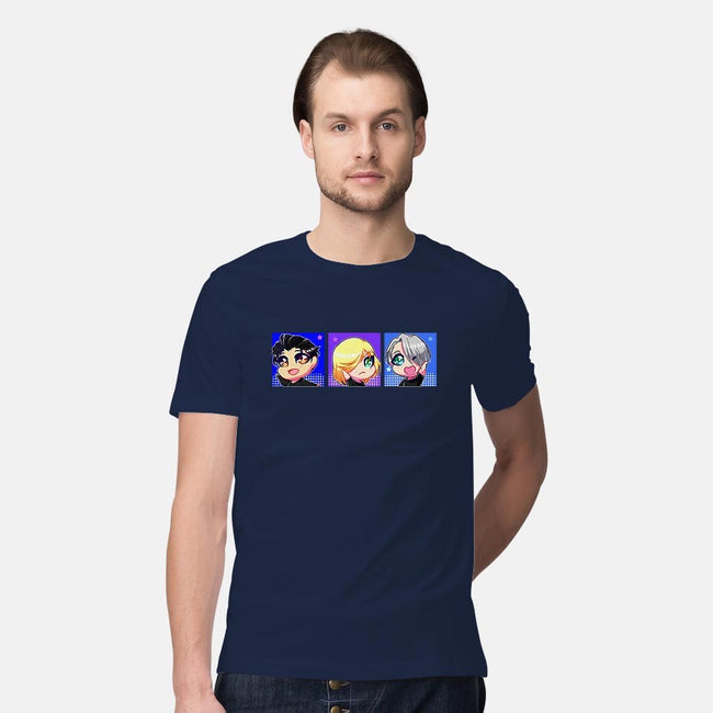 Cheebs On Ice-mens premium tee-jenovasilver