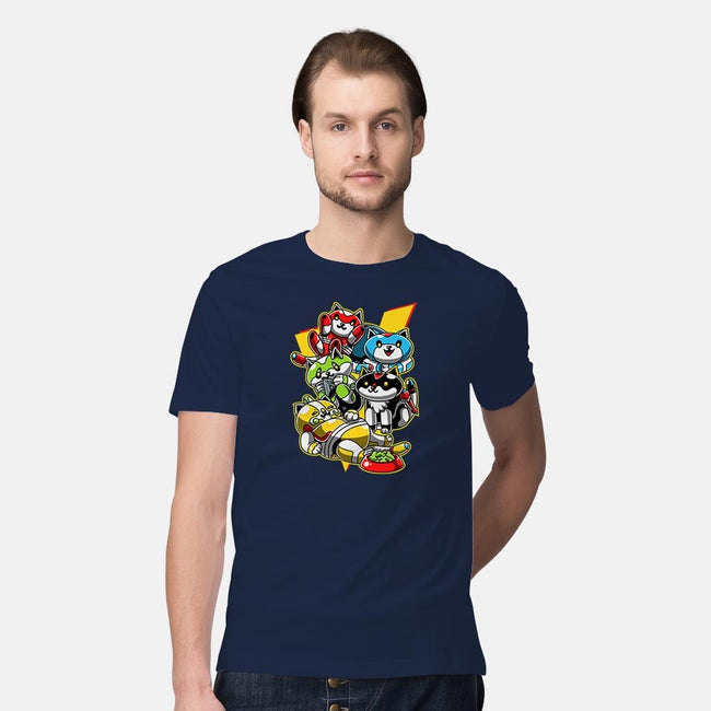 Alien Robot Lion Collector!-mens premium tee-GillesBone