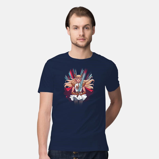 Princess of Power-mens premium tee-ursulalopez