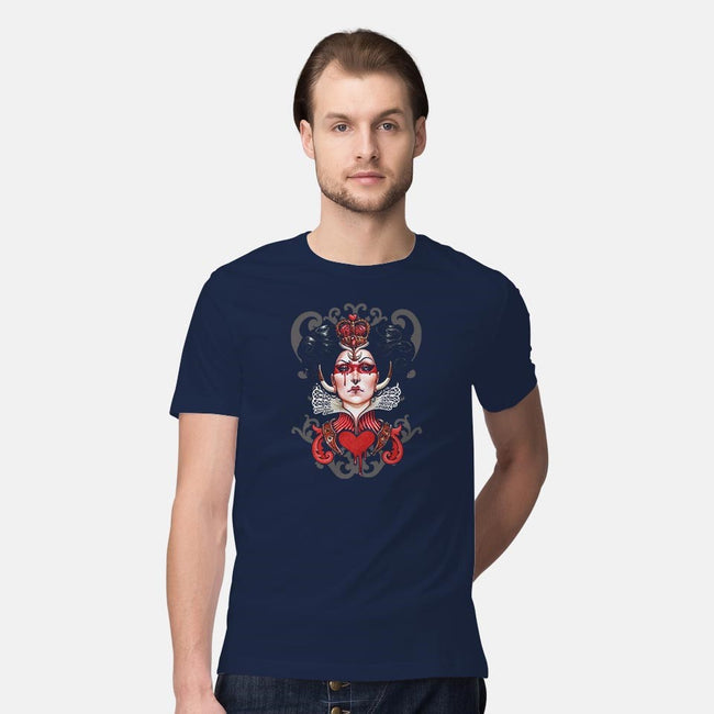 Red Queen-mens premium tee-MedusaD