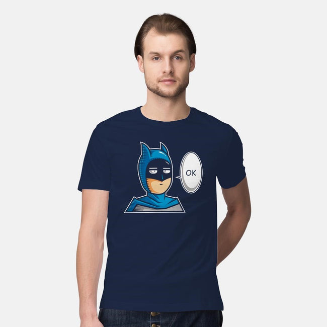 One Punch Bat-mens premium tee-krisren28