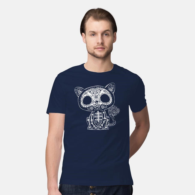 Day of the Kitty-mens premium tee-wotto