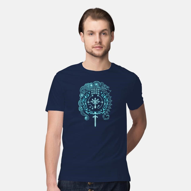 Open Your Eyes-mens premium tee-KatHaynes