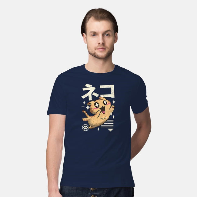 Kawaii Feline-mens premium tee-vp021