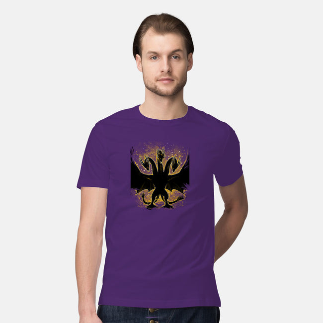 The Golden King-mens premium tee-alemaglia