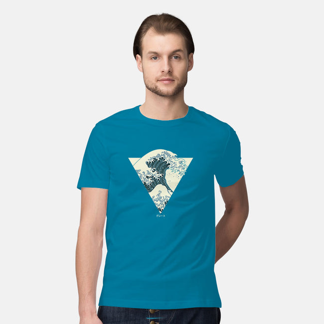 Great Wave-mens premium tee-dewinpal