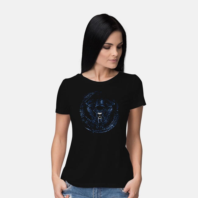 Drone Mother-womens basic tee-DrMonekers
