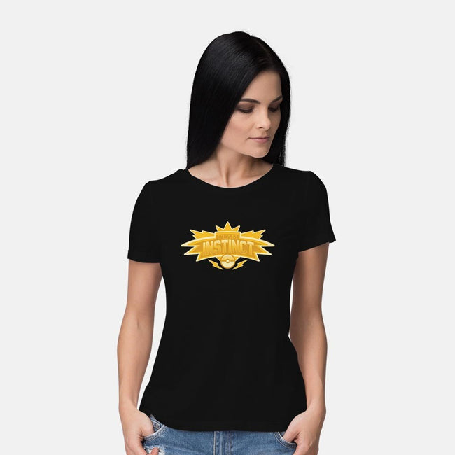 Instinct-womens basic tee-GyleDesigns