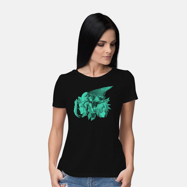 Only One Gil 2-womens basic tee-Coinbox Tees